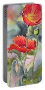 Poppies 3 Portable Battery Charger