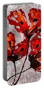 Poppies 47 Portable Battery Charger
