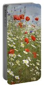 Poppies Et Al Iv Portable Battery Charger