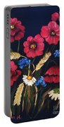 Poppies In Oils Portable Battery Charger