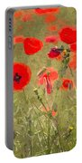 Poppies X Portable Battery Charger