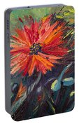 Poppin' Poppies Portable Battery Charger