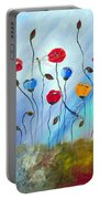 Poppy And Dragonfly Portable Battery Charger