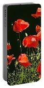 Poppy Art Portable Battery Charger