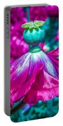 Poppy Dress Portable Battery Charger