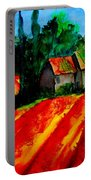Poppy Field  Sold Portable Battery Charger