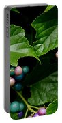 Porcelain Berries Portable Battery Charger