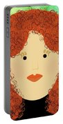 Porcelain Doll 4 Portable Battery Charger