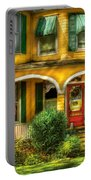 Porch - Cranford Nj - A Yellow Classic  Portable Battery Charger