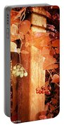 Porch Post Berries Rust Portable Battery Charger