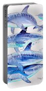 Porpoise Play Portable Battery Charger