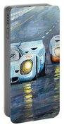 Porsche 917 K Gulf Spa Francorchamps 1971 Portable Battery Charger