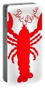 Port Clyde Maine Lobster With Feelers 201300605 Portable Battery Charger