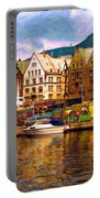 Port Life Watercolor Portable Battery Charger