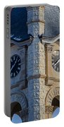 Port Washinton Court House Steeple 1  Portable Battery Charger
