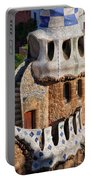 Porter's Lodge Pavilion In Park Guell Portable Battery Charger
