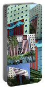Portland Building Collage Portable Battery Charger