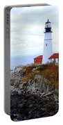 Portland Head Light House In Maine Portable Battery Charger