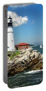 Portland Head Light In Maine Portable Battery Charger