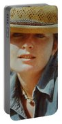 Portrait From The Middle Eightieth Portable Battery Charger