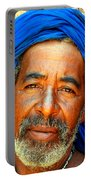 Portrait Of A Berber Man  Portable Battery Charger