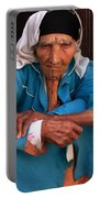 Portrait Of A Berber Woman Portable Battery Charger
