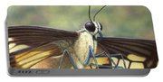 Portrait Of A Butterfly Portable Battery Charger