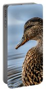 Portrait Of A Duck Portable Battery Charger