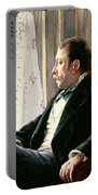 Portrait Of A Man Portable Battery Charger