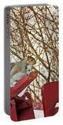 Winter Squirrel Portable Battery Charger