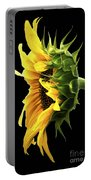 Portrait Of A Sunflower Portable Battery Charger