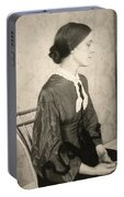 Portrait Of A Woman, C1895 Portable Battery Charger