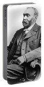Portrait Of Alfred Nobel Portable Battery Charger