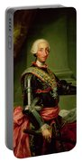 Portrait Of Charles IIi 1716-88 C.1761 Oil On Canvas Portable Battery Charger