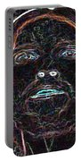 Portrait Of Christ Portable Battery Charger