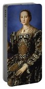 Portrait Of Eleanor Of Toledo With Her Son Giovanni De' Medici Portable Battery Charger