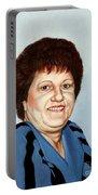 Portrait Of Essie Simon  Portable Battery Charger