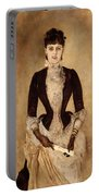 Portrait Of Isabella Reisser Portable Battery Charger
