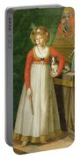 Portrait Of Isidore, 1810 Portable Battery Charger