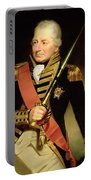 Portrait Of John Jervis First Earl Portable Battery Charger