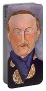 Portrait Of Leon Bakst Portable Battery Charger