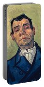 Portrait Of Man Portable Battery Charger