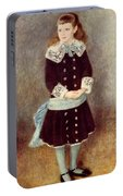 Portrait Of Martha Berard Portable Battery Charger