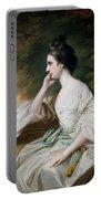 Portrait Of Miss Anne Dutton Portable Battery Charger