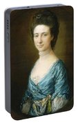 Portrait Of Mrs Clement Tudway Portable Battery Charger