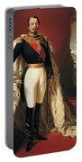Portrait Of Napoleon IIi Louis Napoleon Bonaparte Portable Battery Charger