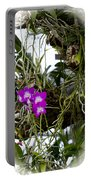 Portrait Of Orchids Portable Battery Charger