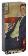 Portrait Of Peter Kapitza 1926 Portable Battery Charger