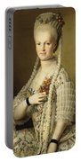 Portrait Of Sarah Cook Portable Battery Charger