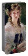 Portrait Of Sophie Troubetskoy  Portable Battery Charger
